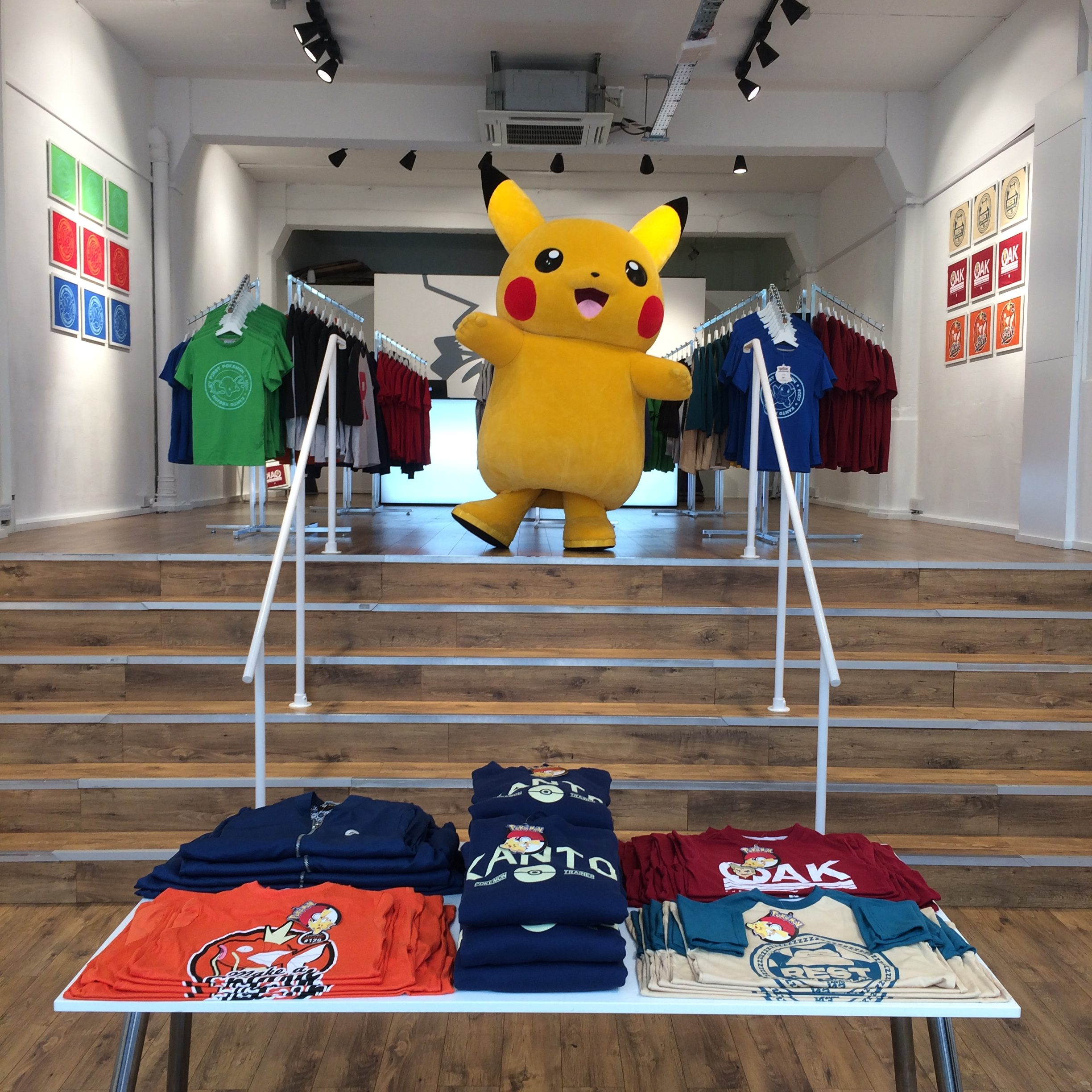 OUR POKEMON POP UP STORE IS NOW OPEN