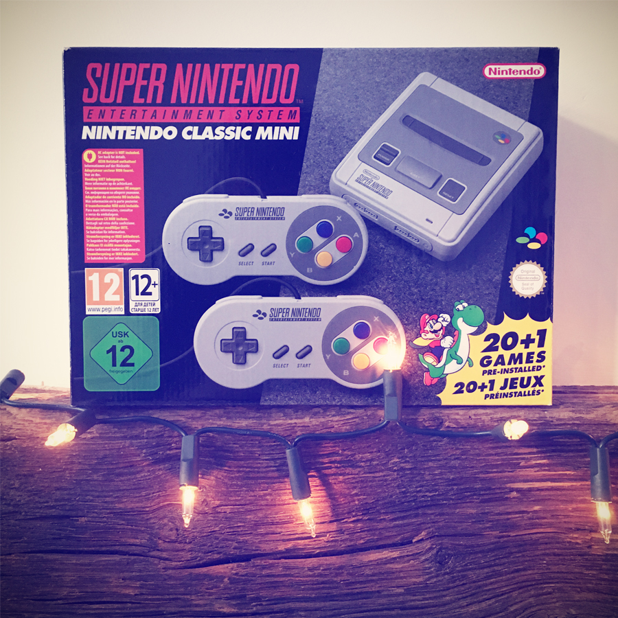 FANCY A SNES MINI? WIN ONE WITH US!   Insert Coin Clothing – the