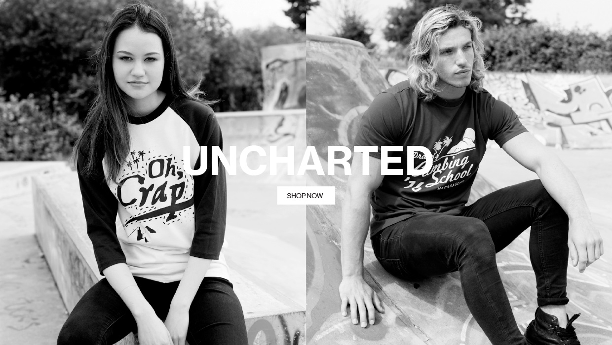 Uncharted - shop now