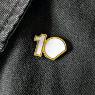 PERFECT 10 - FREE PINS WITH ALL ORDERS IN JULY!