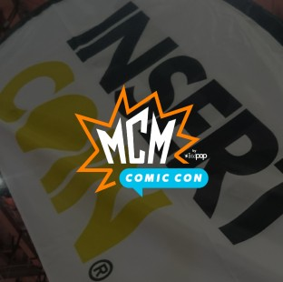 WE'RE HEADING TO MCM EXPO IN LONDON!