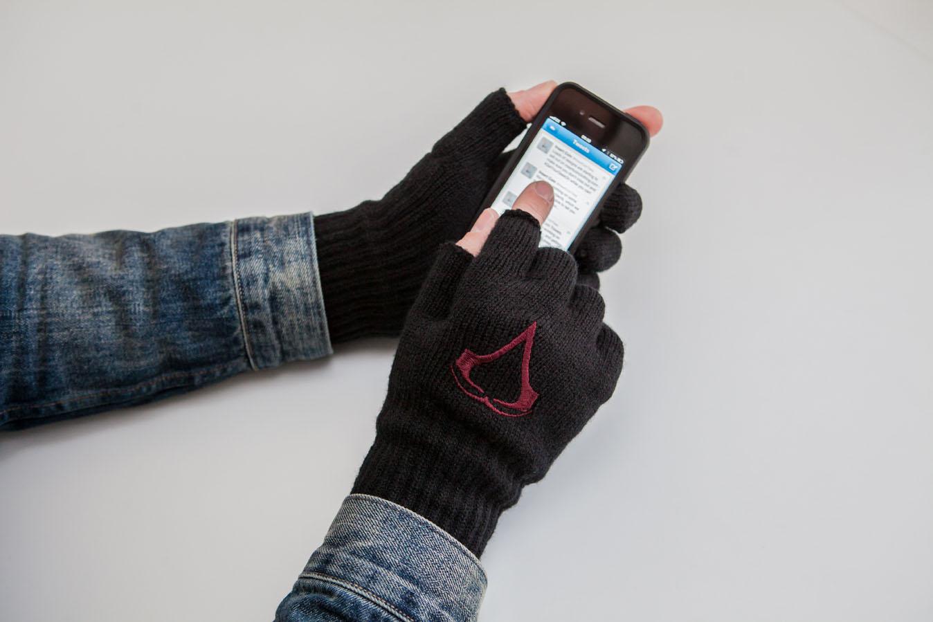 Fingerless gloves for gaming -