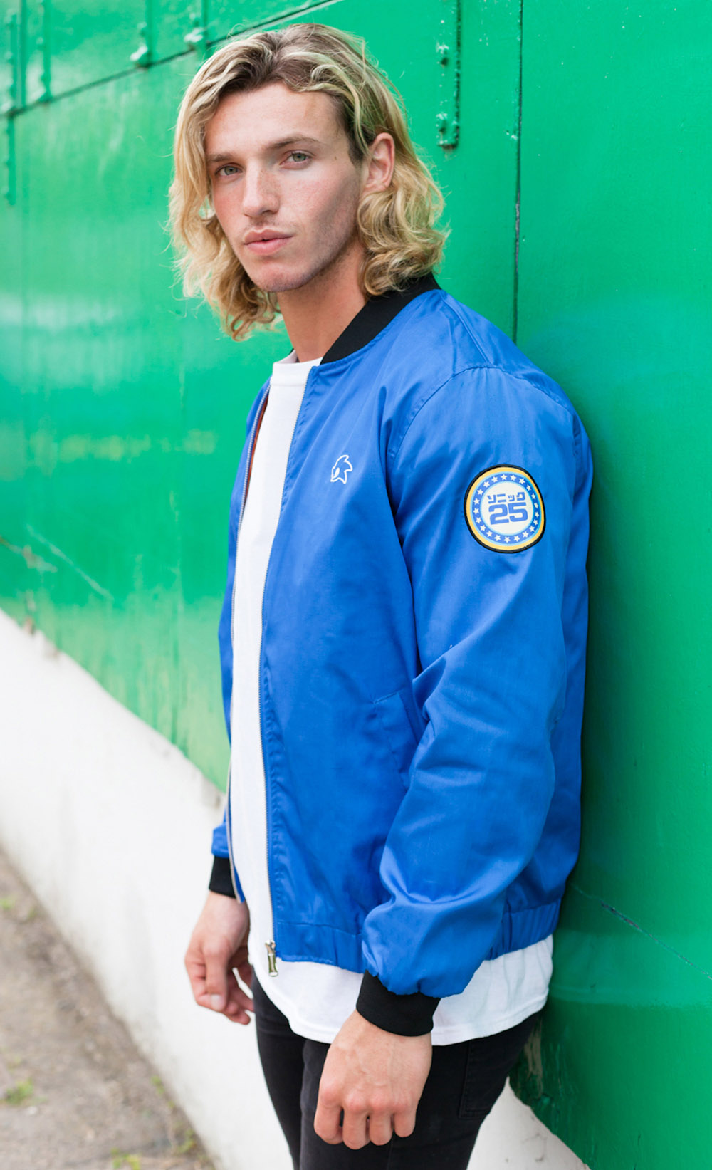 Sonic Bomber Jacket Insert Coin Clothing