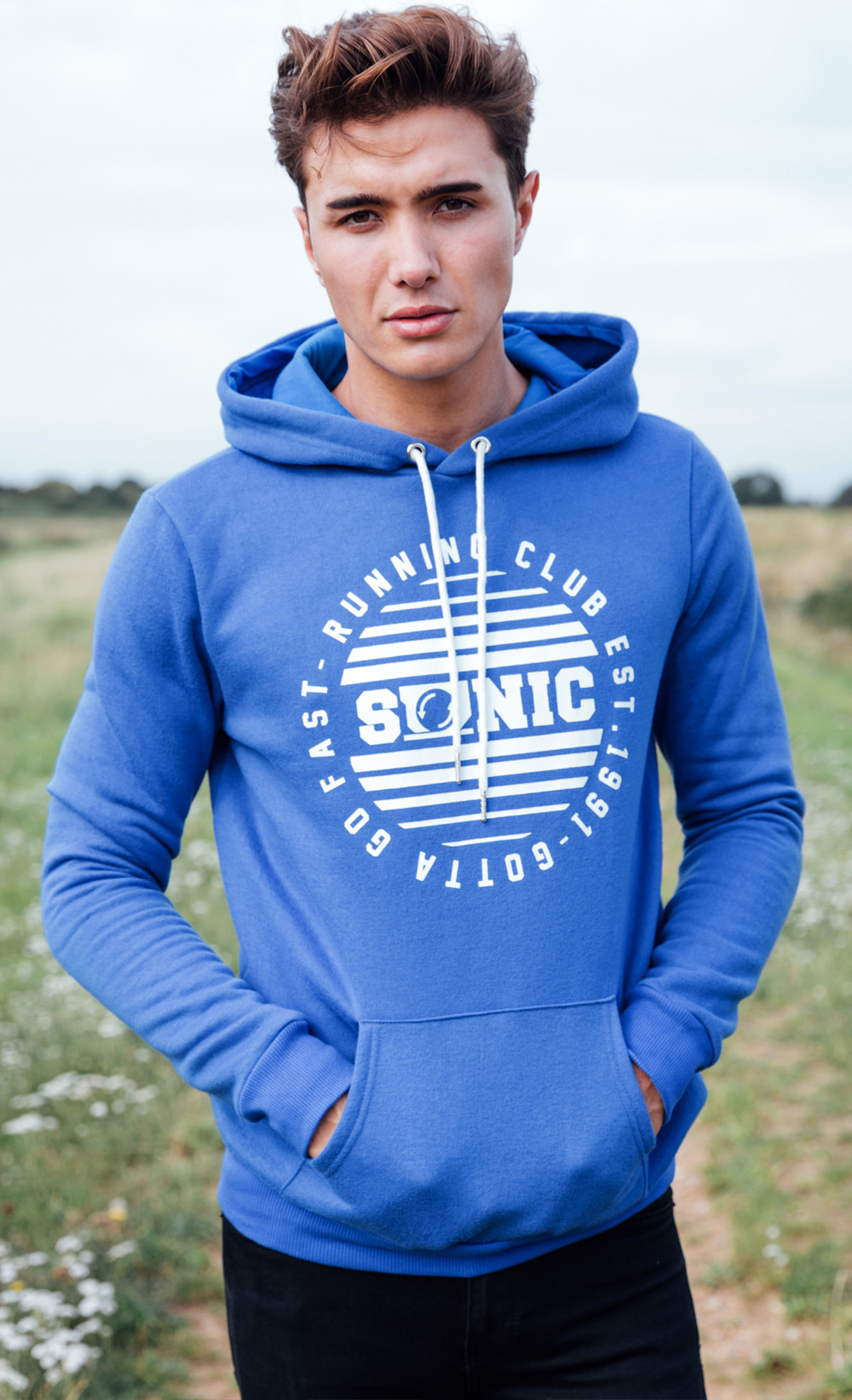 Sonic the hedgehog hoodies