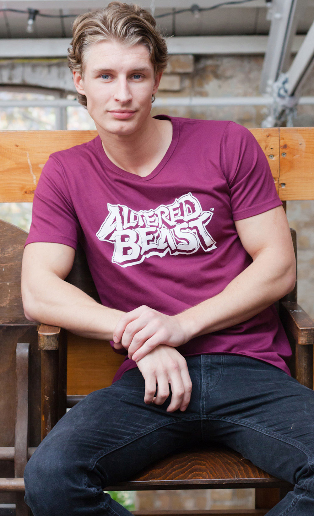 Altered Beast On Console Mens Vest