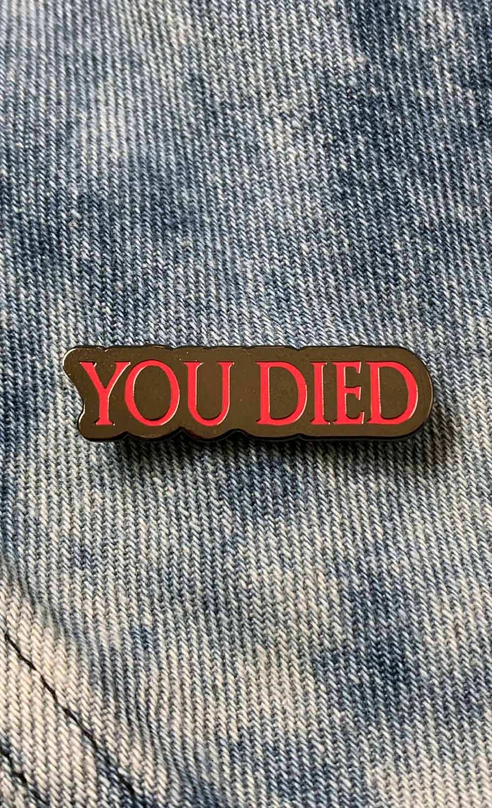 You Died - Insert Coin Clothing