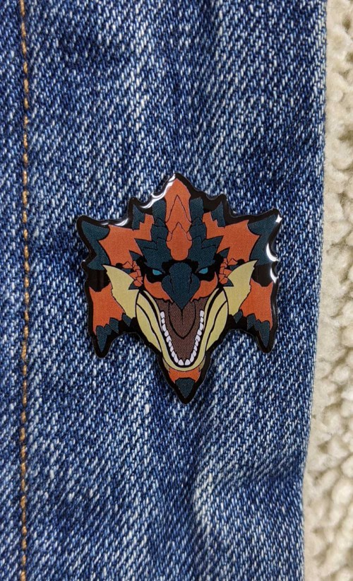 Rathalos Enamel Pin