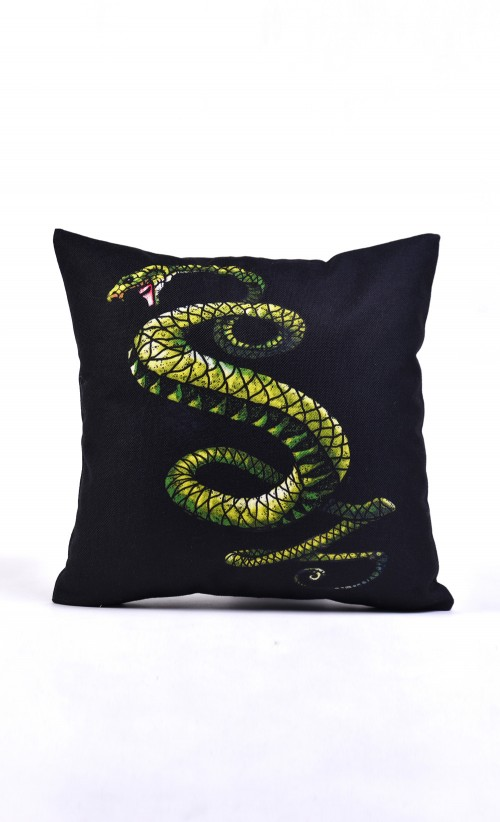 Tunnel Snakes Cushion
