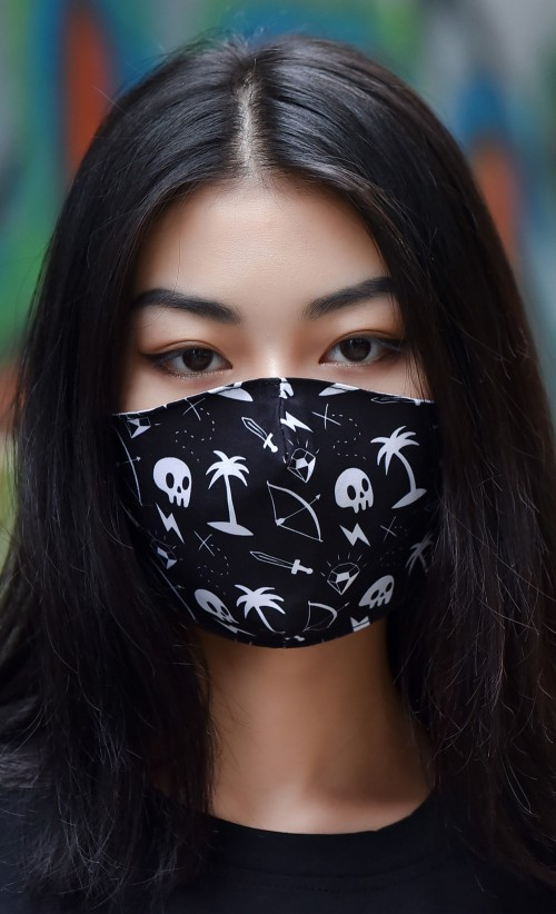 Treasure Hunter Face Mask