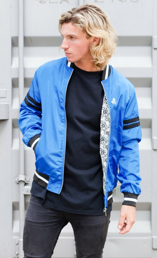 PlayStation4 bomber jacket