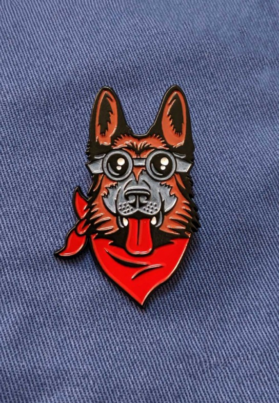 Dogmeat Enamel Pin