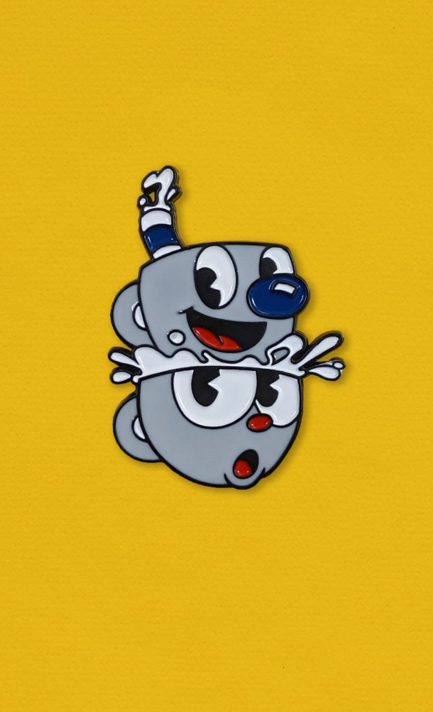 Inkwell Icons Enamel Pin