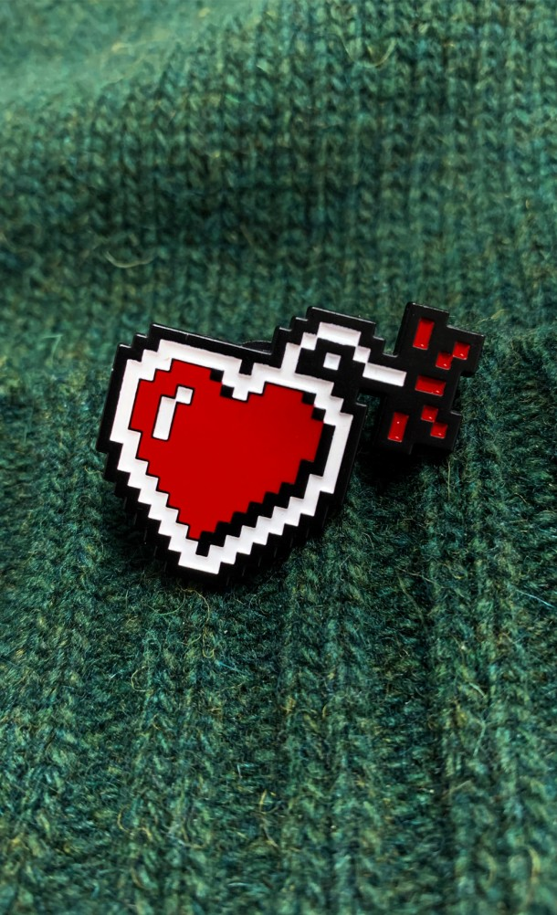 GameBlast Enamel Pin